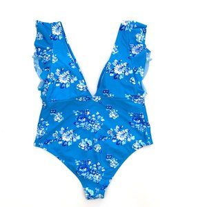 CUPSHE Women's Floral One Piece Swimsuit 1x NEW